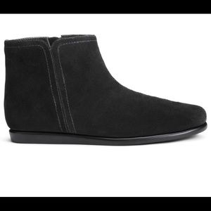 Women's Suede Aerosoles Ankle Boot